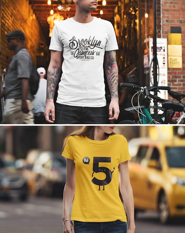 At this price point the choice is simple, get it and you're done! 51 Awesome Free T Shirt Mock Ups Psd
