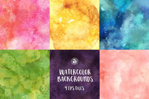 31 free watercolor texture