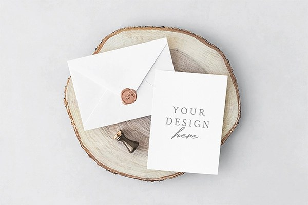 27 Invitation Greeting Card Amp Postcard Mockups Free
