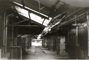 empty market stalls in antananarivo
