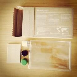 memobottle: Inhalt der Verpackung