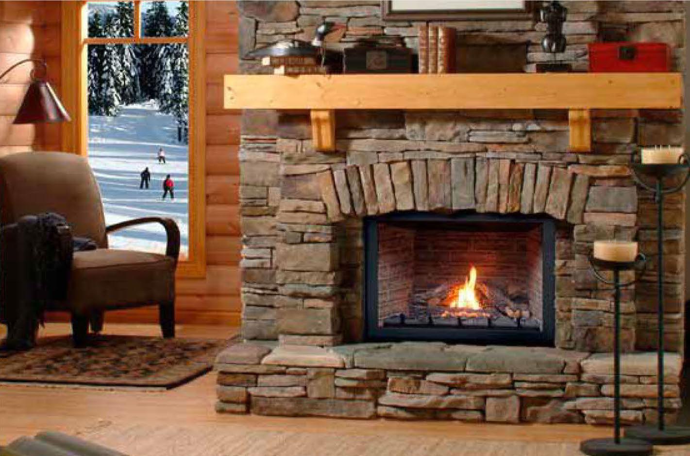 Montigo H38DF Direct Vent Gas Fireplace  InSeason