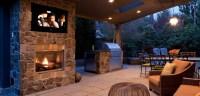 Montigo H38VO-ST Outdoor Ventless See Through Fireplace ...