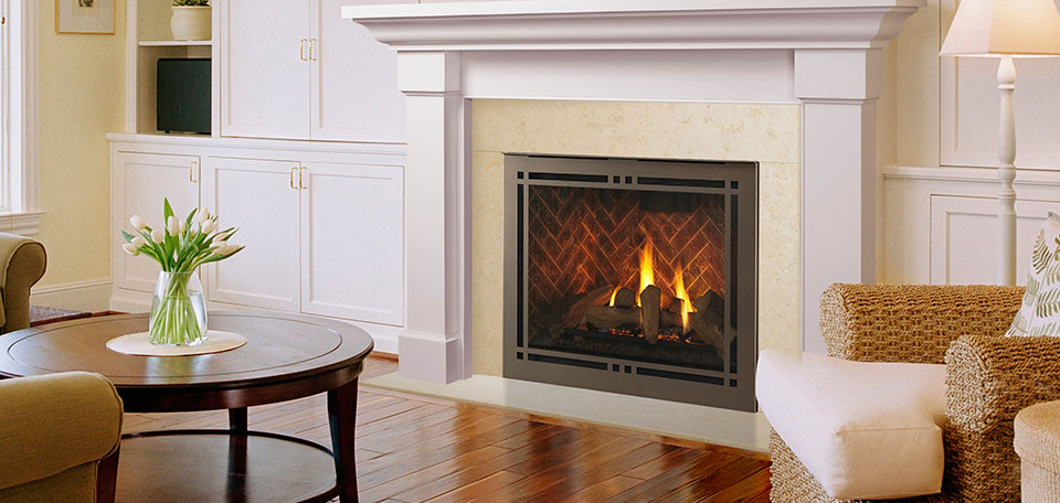 Majestic Meridian Series Direct Vent Gas Fireplaces