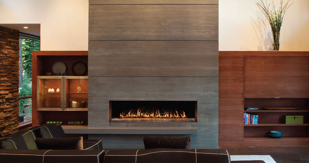 Montigo RP620 Power Vent Gas Fireplace  InSeason