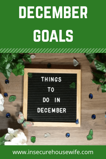 December Goals pin image