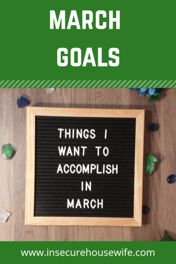 It's time to set some new monthly goals. Doing this helps to reach those long term goals and keep yourself accountable.
