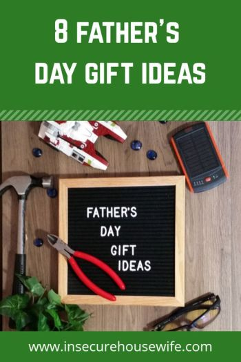 Looking for Father's Day gift ideas? Need something beyond the typical gifts of ties, tools and golf accessories. Look no further! Check out these 8 Father's Day gift ideas. #fathersday #gifts #giftideas #dad