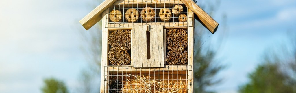 Insektenhotel Standort