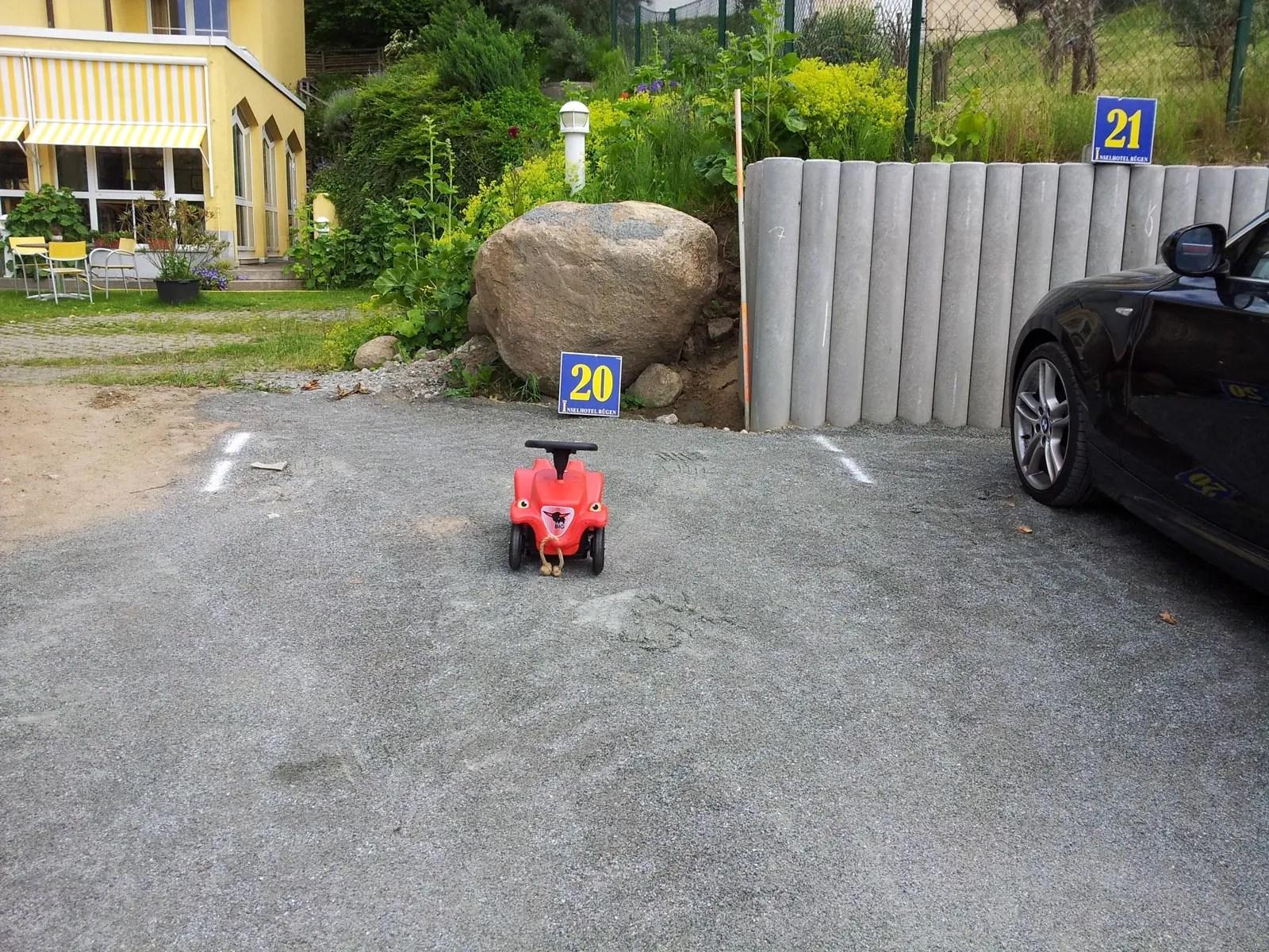 xxl parkplaetze direkt am haus