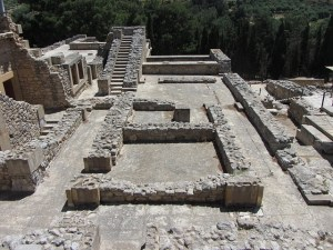 Palast von Knossos Ruinen