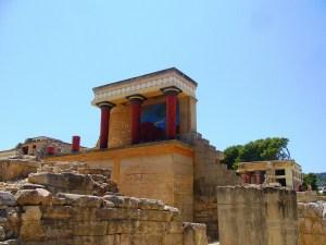 Kreta Sehenswürdigkeiten Knossos