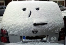 Auto im Winter