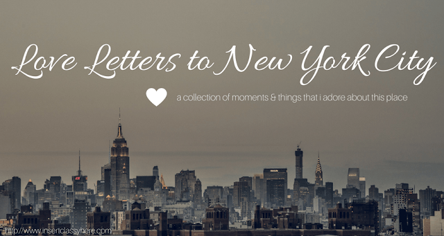 Love Letters to NYC: Vol 3