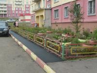 Рокосовского 29. Пешеходная дорожка после ремонта.