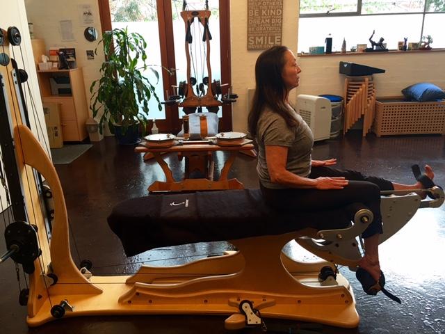 Gyrotonics for postural correction