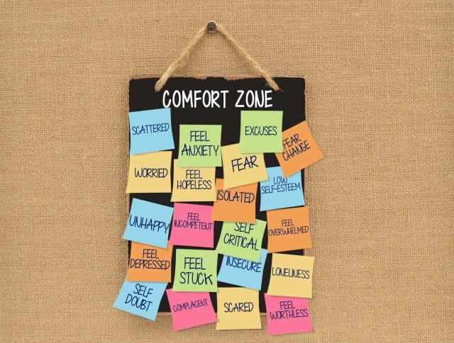 Comfort Zone Blackboard