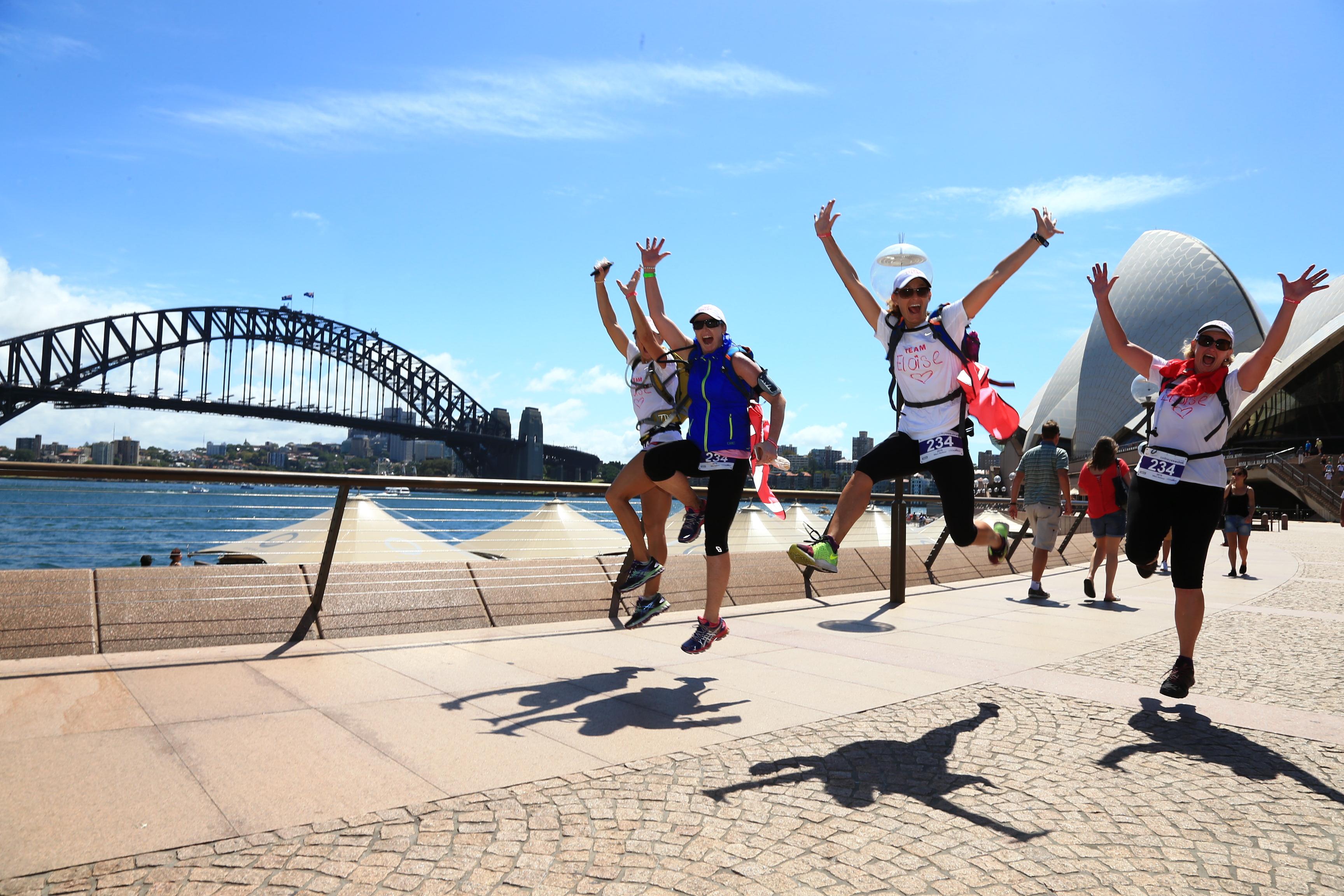 Wild Women On Top Sunrise Health Hike Kick Off
