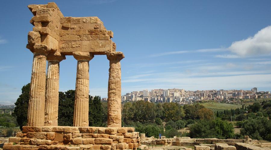 tour sicilia, agrigento tempio dioscuri