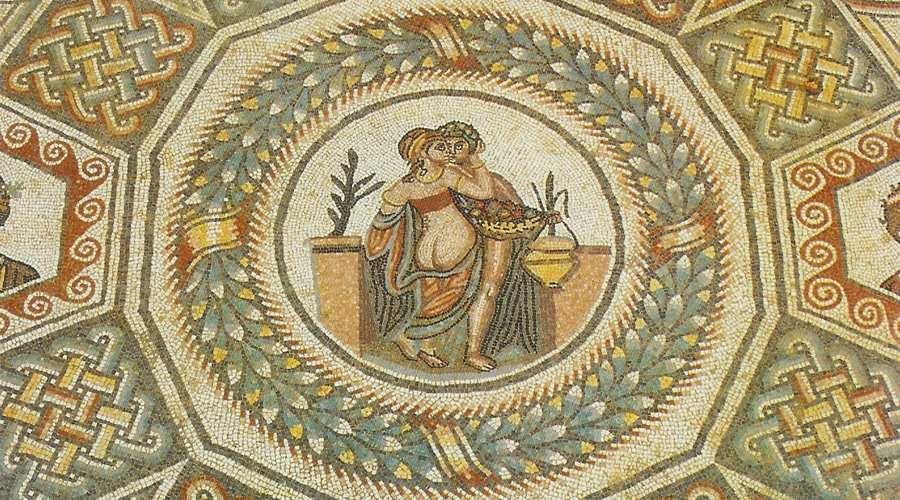 piazza armerina mosaico pavimento