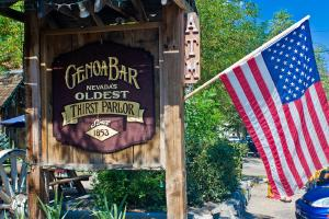 Genoa Bar – Nevada's ältester Saloon. - Foto: NCOT