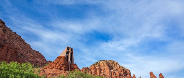 Chapel of the Holy Cross. - Foto: Arizona Office of Tourism