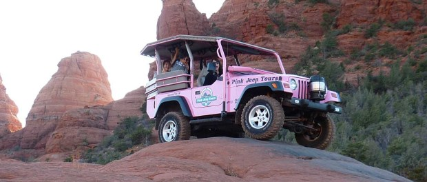 Mit dem Jeep die Landschaft erkunden. - Foto: Arizona Office of Tourism