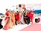 Life Ball Flugzeug Ankunft 2015. - Foto: Austrian Airlines