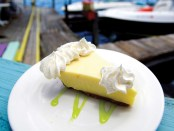Ein Stück Key Lime Pie. - Foto: Florida Keys News Bureau