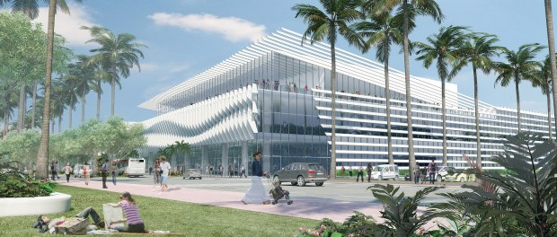 Die Umbauarbeiten am Miami Beach Convention Center beginnen im Dezember 2015. - Grafik: City of Miami Beach and Greater Miami Convention and Visitors Bureau