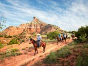 Palo Duro Canyon. - Foto: Chase A. Fountain, TPWD