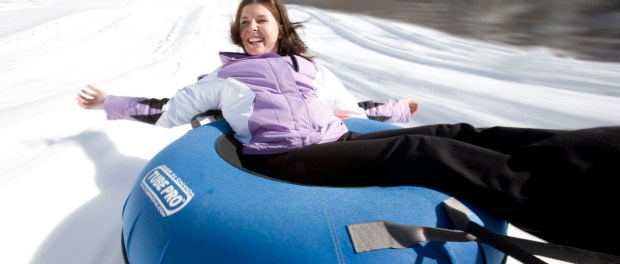 Snow Tubing Wintergreen Resort. - Foto: Ben Blankenburg. Courtesy Virginia Tourism Corp