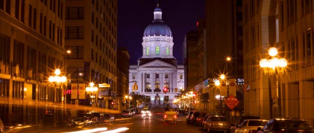 Das State Capital Building in Indianapolis. - Foto: Great Lakes USA