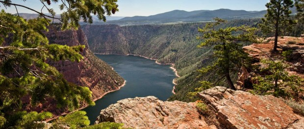 Der Red Canyon in der Flaming Gorge National Recreation Area. - Foto: Matt Morgan/Utah Office Of Tourism