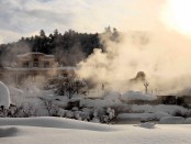 Das Springs Resort & Spa im Winter. - Foto: Visit Pagosa Springs