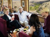 Mit der Verde Canyon Railroad den Wilden Westen erleben. - Foto: Arizona Office of Tourism