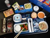 British Airways neues World Traveller Catering - Japanisches Menu mit Softdrink. - Foto: British Airways