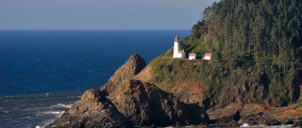 Das Heceta Head Lighthouse. - Foto: Christian Heeb