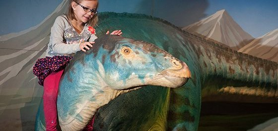 Dinosaurier Ausstellung in Long Island. - Foto: Discover Long Island