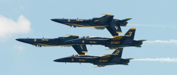 Blue Angels bei der Bethpage Air Show. - Foto: Discover Long Island