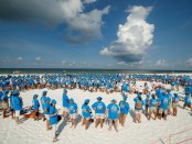 Weltrekord am Strand. - Foto: The Beaches of Fort Myers & Sanibel