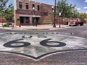 Die Route 66 in Winslow, Arizona. - Foto: Arizona Office of Tourism