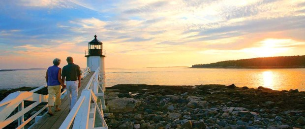 Marshall Point Lighthouse. - Foto: Maine Office of Tourism