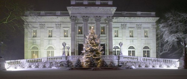 Weihnachten in der Newport Mansions. - Foto: John Corbett/The Preservation Society of Newport County