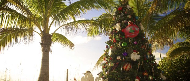 Weihnachten am Strand. - Foto: The Beaches of Fort Myers & Sanibel