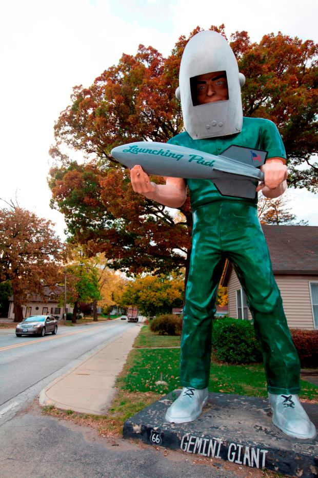Gemini Giant in Wilmington, Illinois. - Foto: Enjoy Illinois