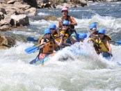 Spaß beim Rafting. - Foto: Adventure Company/Breckenridge Tourism Office