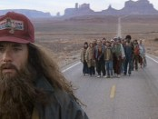 Tom Hanks als Forrest Gump im Monument Valley. - Foto: Utah Film Commission