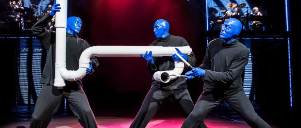 Aus allem kann die Blue Man Group ein Klangerlebnis machen. - Foto: The Broadway Collection