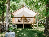 Glamping in Whispering Springs. - Foto: Shannon Robbins Photo